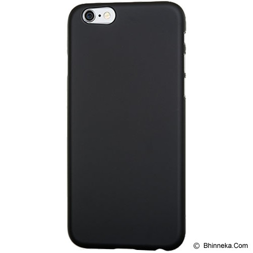POWER SUPPORT Air Jacket for Apple iPhone Plus 6 5.5 R [PSPYK-82/UPYK-82] - R.Black - Casing Handphone / Case